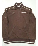Lehigh Mountain Hawks Nike Long Sleeve Half Zip Pullover Small Good Cond... - $17.81