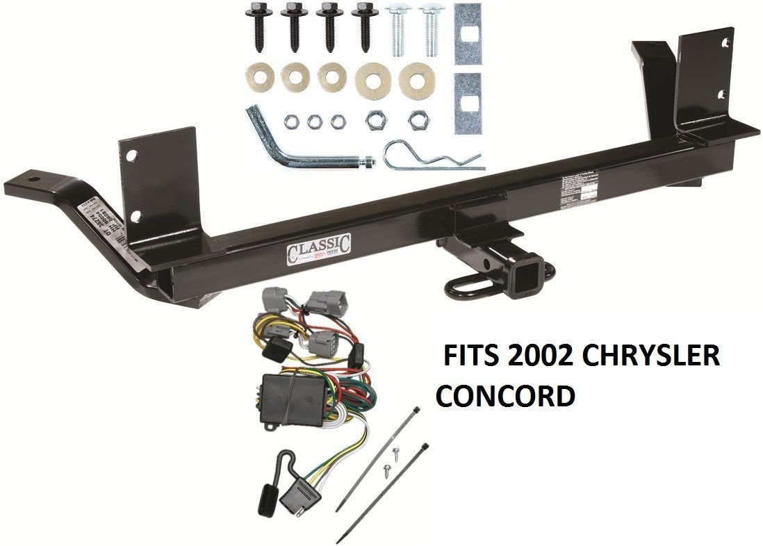 trailer hitch w wiring kit fits 2002 chrysler concorde. Black Bedroom Furniture Sets. Home Design Ideas
