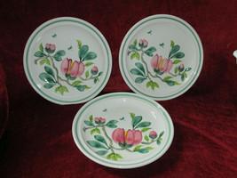 "Portmeirion Magnolia set of 3 dinner plates 10 1/2"" - $44.50"