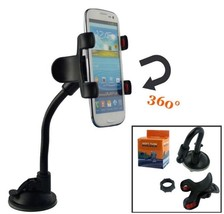 JT Car Mount Long Arm Universal Windshield Dashboard for cellphone - $6.92