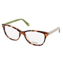 New Balmain Tortoise and Green Eyeglasses 55-15-140 BL 1021 03 - $79.19
