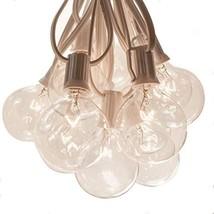 Hometown Evolution, Inc. 50 Foot Globe String Lights - G50 Clear 2 Inch ... - $47.24
