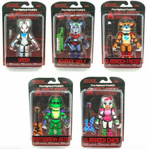 NEW Five Nights At Freddy's Security Breach Action Figures Funko Complet... - $139.87
