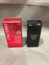 NIB Shiseido Perfect Refining Foundation  D30 Very Rich Brown SPF 15 1oz... - $18.66