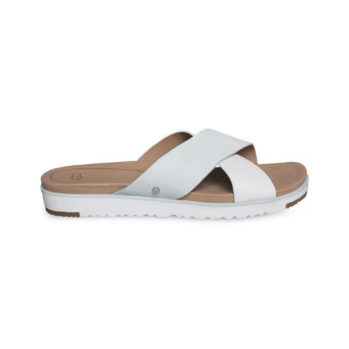 c15724428 Ugg Kari Aqua Leather Flat Slide Sandal and 50 similar items