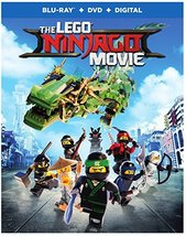 Lego Ninjago Movie [Blu-ray + DVD + Digital] (2017)