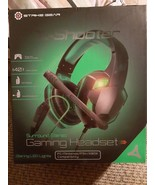 Strike Gear X-Shooter Surround Stereo Universal LED Gaming Headset PS4 P... - $39.59