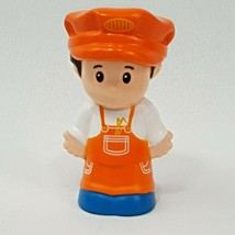 Fisher Price Little People Choo-Choo Zoo Train Replacement Engineer Conductor - $4.95