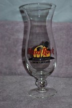 Hard Rock Cafe New Orleans Hurricane Glass EUC - Black Letters - $8.00