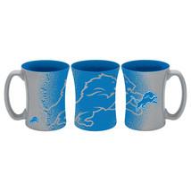 Detroit Lions Coffee Mug 14oz Mocha Style**Free Shipping** - $21.20