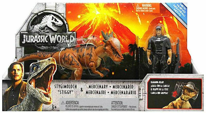 STYGIMOLOCH AND MERCENARY - Jurassic World Fallen Kingdom Story Pack - $27.43