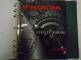 1996 1997 1998 1999 Honda CBR900RR Service Shop Repair W/ Binder Manual OEM *** - $35.63