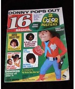 16 Magazine March 1972 Donny Osmond David Cassidy Sonny & Cher Butch Pat... - $16.00