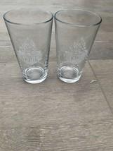 2 Beach Grease Beer Co. Vista, CA Pint Glasses Craft Beer West Coast IPA - $15.00