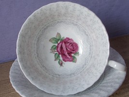 Vintage 1950's Paragon English Bone China Pink Rose Tea Cup Teacup - $127.71