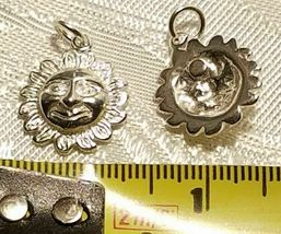 CELESTIAL AND ZODIAC STERLING SILVER CHARMS .925 - HUGE SELECTION - YOU CHOOSE image 4