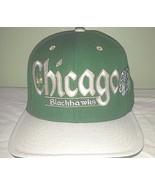 Chicago Blackhawks Reebok Kelly Green Shamrock Wool Snapback Baseball Ca... - $35.00