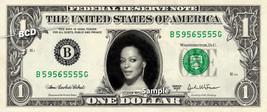 DIANA ROSS - Real Dollar Bill Cash Money Collectible Memorabilia Celebri... - $7.77