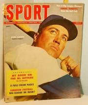 1954 Sept. Sport Magazine - Duke Snider Dodgers Cover Robinson, Maglie, ... - $23.76