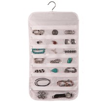 Hanging Jewelry Organizer 37 Pockets Bedroom Cl... - $10.87
