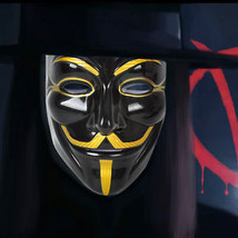 Halloween costume Cosplay Party Masquerade Mask V Vendetta Scary Men Wom... - $12.45