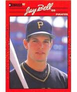 1990 Donruss #488 Jay Bell NM-MT Pirates - $0.99