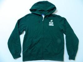 M35 New REEBOK Green Bay Packers Embroidered Sweatshirt Hoodie WOMEN'S S... - $29.95