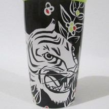 Starbucks Tiger Ceramic Travel Mug Double Wall 12 Oz  2018 With Lid - $39.59