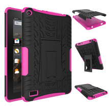 """Rugged Hybrid Protective With KickStand Case For Amazon Fire 7"""" 2015 - H... - $18.98"""