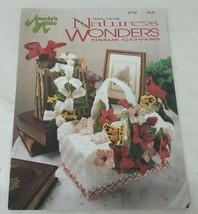 Annie's Attic 87T29 Natures Wonders Tissue Covers Plastic Canvas Leaflet - $10.65