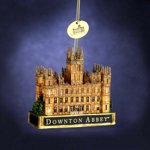 Downtown Abbey Castle Christmas Ornament WOW!