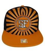 San Francisco Men's Striped Cotton Patch Style Adjustable Snapback Baseb... - $13.95