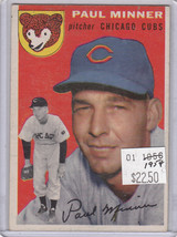 1954 Topps 28 Paul Minner Not Graded 02 - $16.04