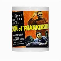 Son Of Frankenstein Bela Lugosi Boris Karloff Nuovo 325ml Tazza di Caffè - $14.25