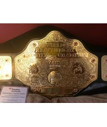 AARON RODGERS GREEN BAY PACKERS AUTOGRAPH WWE WCW HEAVYWEIGHT CHAMPIONSH... - $1,692.00