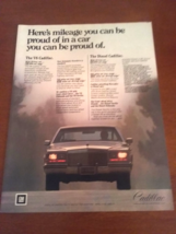 Vintage 1981 Cadillac Southern Living Magazine Ad - $7.95