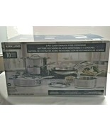 Kirkland Signature 5-Ply Clad Stainless Steel Cookware Set - $187.99
