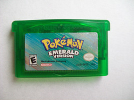 Pokemon Emerald Version Game - AUTHENTIC - NEW SAVE BATTERY - $39.99