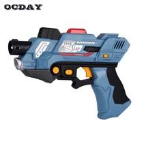 2Pcs/set Kid Digital Tag Laser Toy Guns With Flash Light & Sounds Infrar... - $56.09