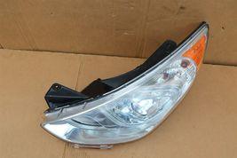 11-15 Hyundai Sonata Hybrid Projector Headlight Driver Left LH - POLISHED image 6