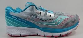 Saucony Zealot ISO 3 Running Shoes Women's Sz US 10 M (B) EU 42 Silver S10369-1