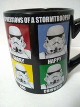 Coffee Mug - Star Wars Expressions of a Stormtrooper. 14 Ounces.  Lucasfilm - $12.18