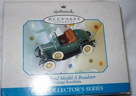 Hallmark Keepsake Ornament 1931 Ford Model A Roadster Vintage Roadsters  - $10.88