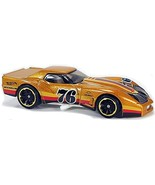Hot Wheels - '76 Greenwood Corvette: HW Race Day #4/10 - #34/250 (2020) *Loose* - $1.50