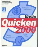 Quicken 2000 Basic, Financial Software, Windows Version, CD NEW quicken ... - $19.79