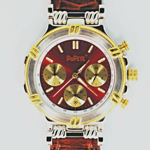 Popeye The Sailor Man, Red Chronograph Fossil, Vary Rare, New Unworn Watch! $159 - $157.26