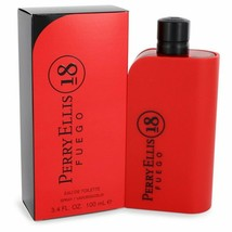 Perry Ellis 18 Fuego By Perry Ellis Eau De Toilette Spray 3.4 Oz For Men - $41.08