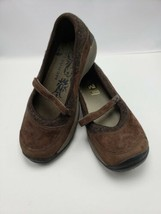 Merrell Women's Size 9 Mary Jane Slip On Brown Encore Emme Coffee S213 - $14.85