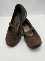 Merrell Women's Size 9 Mary Jane Slip On Brown Encore Emme Coffee S213 - $14.85