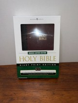 Leather Nelson Bible GIANT PRINT King James Version in box  - $34.99